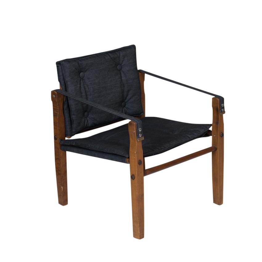 Kevin Denim Armchairs