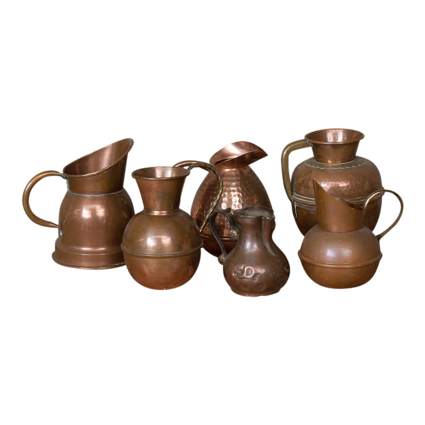 Colette Copper Vessels (set of 5)