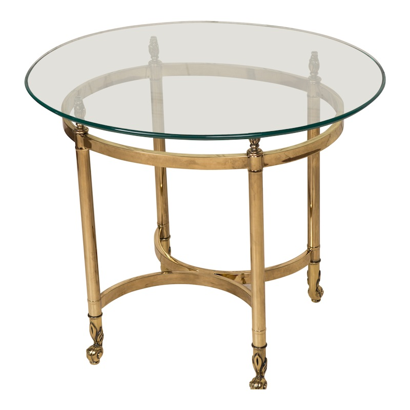 Jenner Brass Side Table