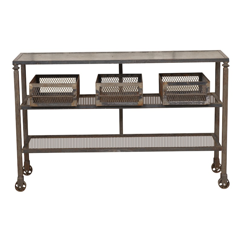 Bleeker Industrial Console Table