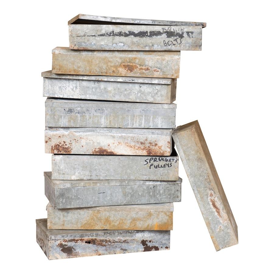 Shay Zinc Boxes