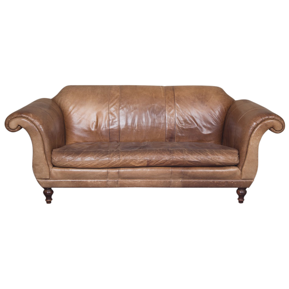 Harigan Leather Couch