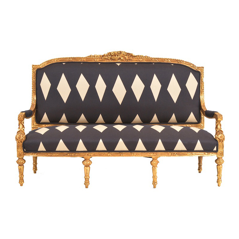 Daphney Navy Couch