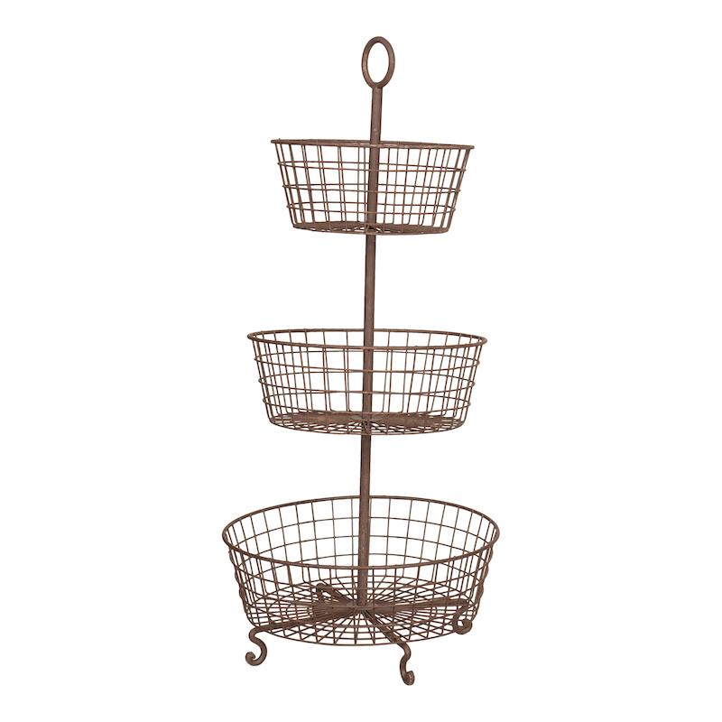 Garren Grande Metal Basket