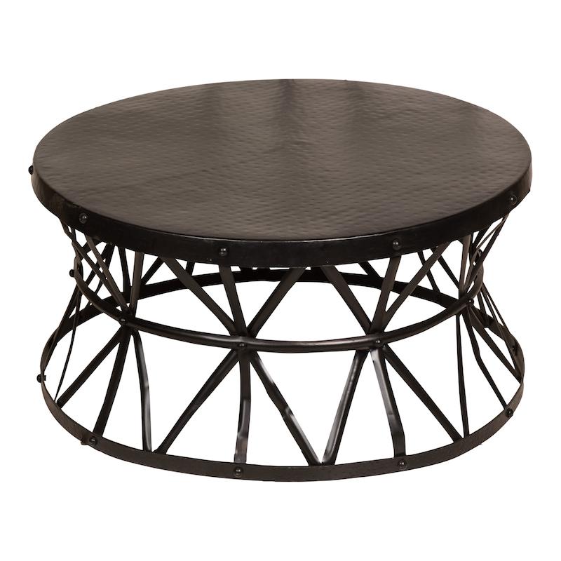 Harrington Small Black Coffee Table