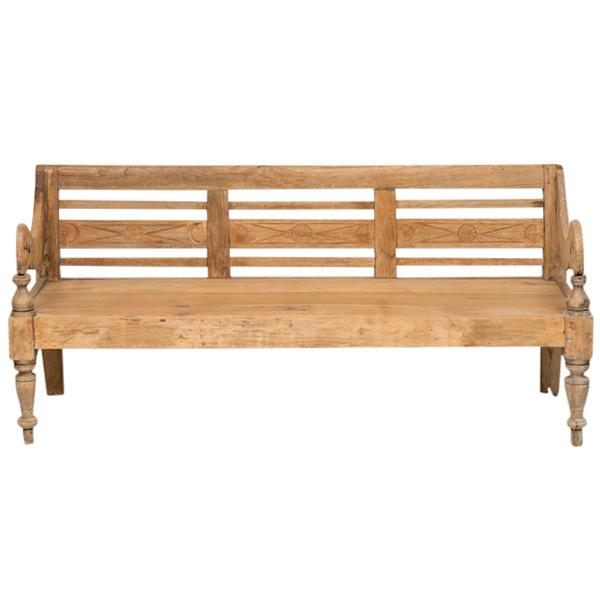Rishi Wooden Bench