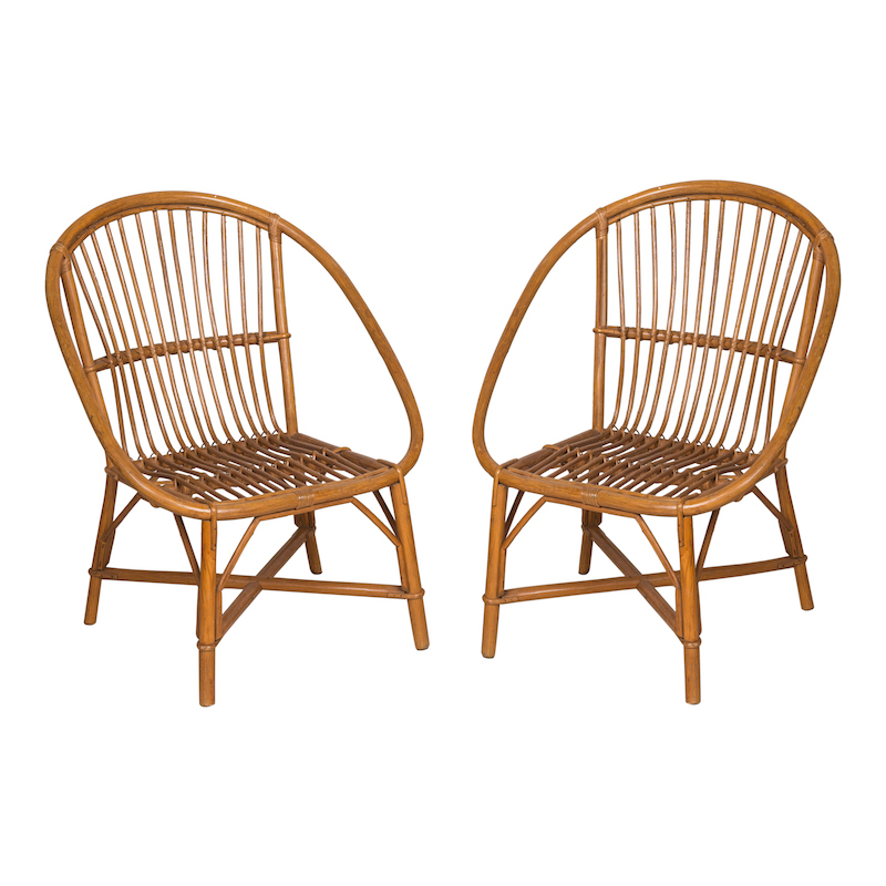 malvern rattan chairs vintage french rattan chairs with criss cross