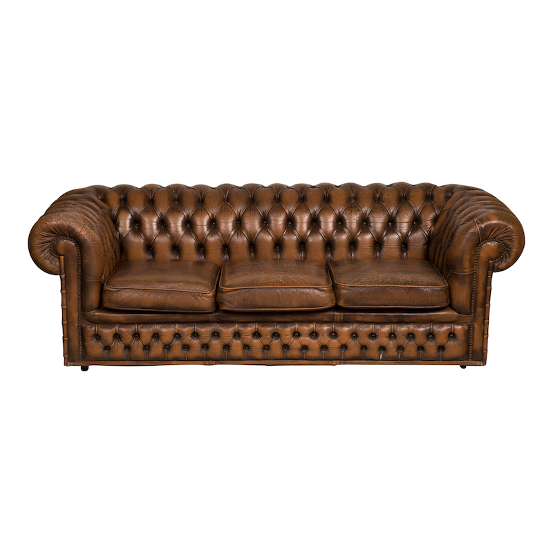 Sorrento Leather Couch