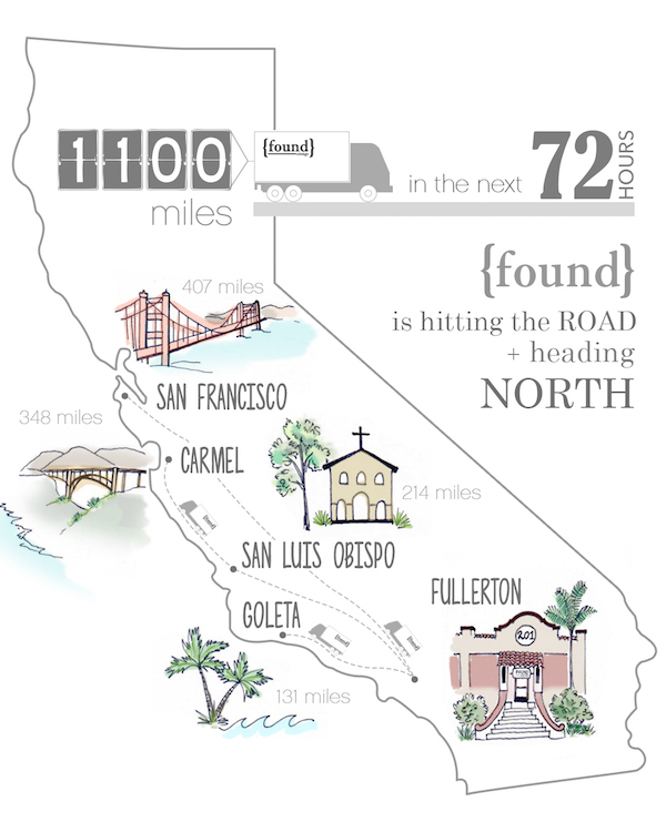found - heading north