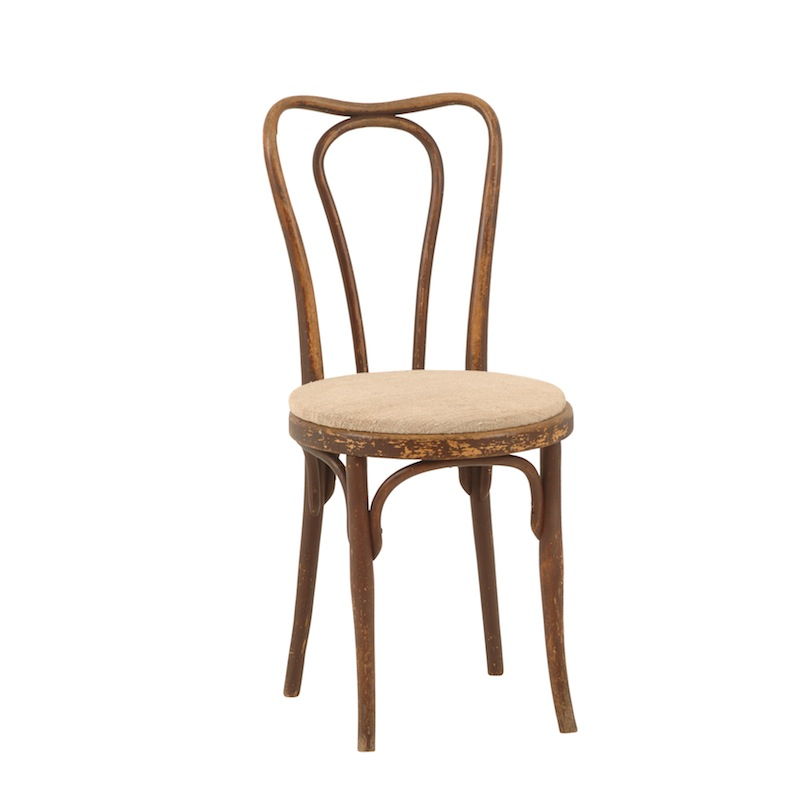 brett upholstered bentwood chairs