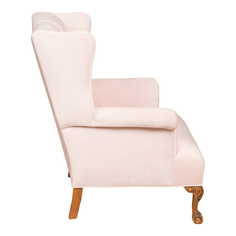 Brielle Wingback Chair Found Vintage Rentals