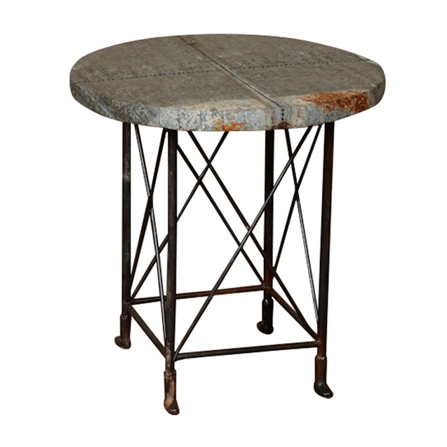 Gideon Industrial Side Tables