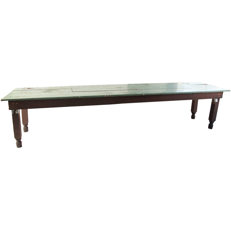 Large Gaffney Turquoise Farm Table