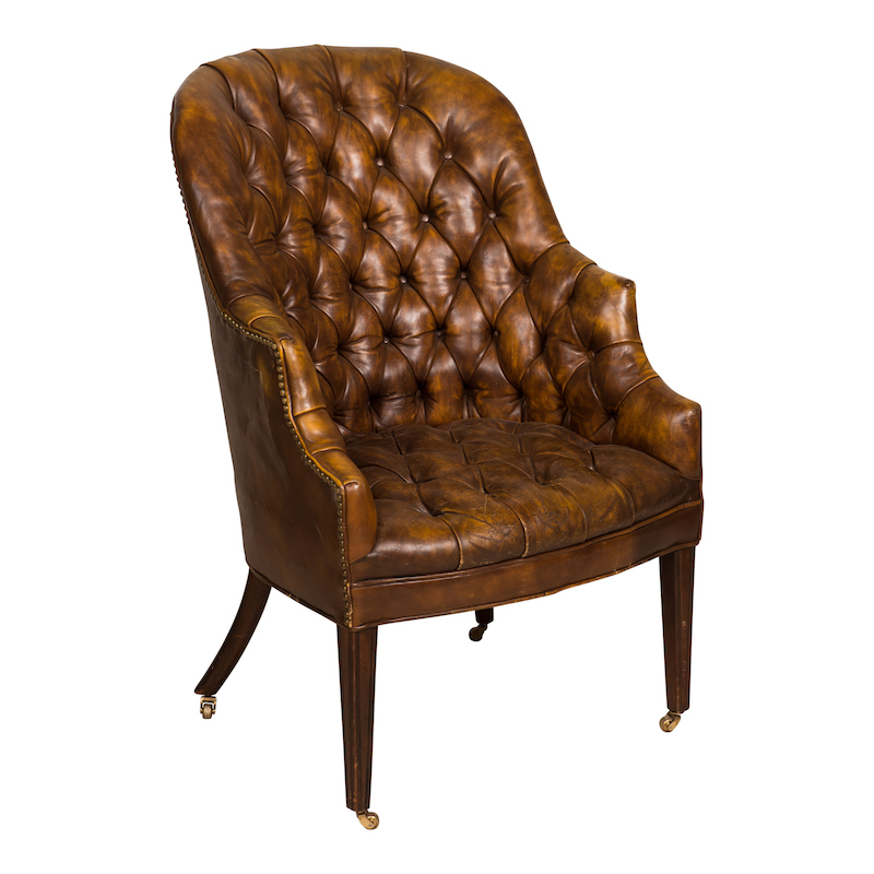 Marcos Leather Chair