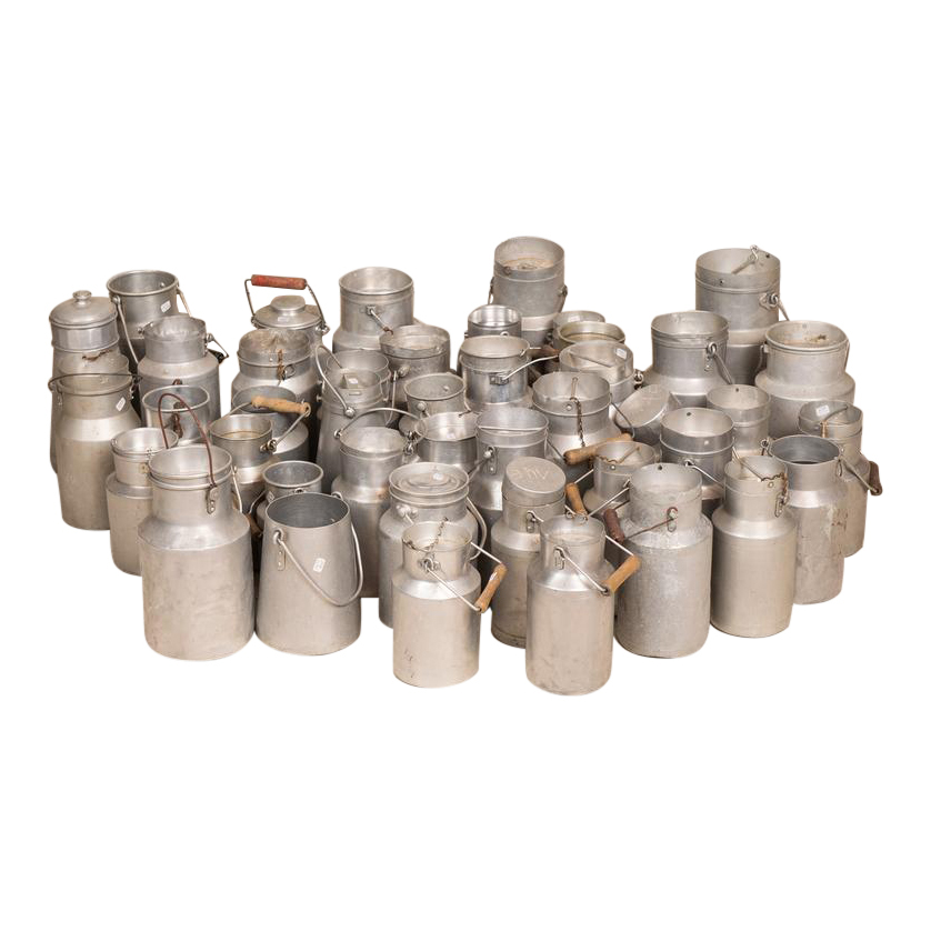 Moscow Milk Churns (set of 3)