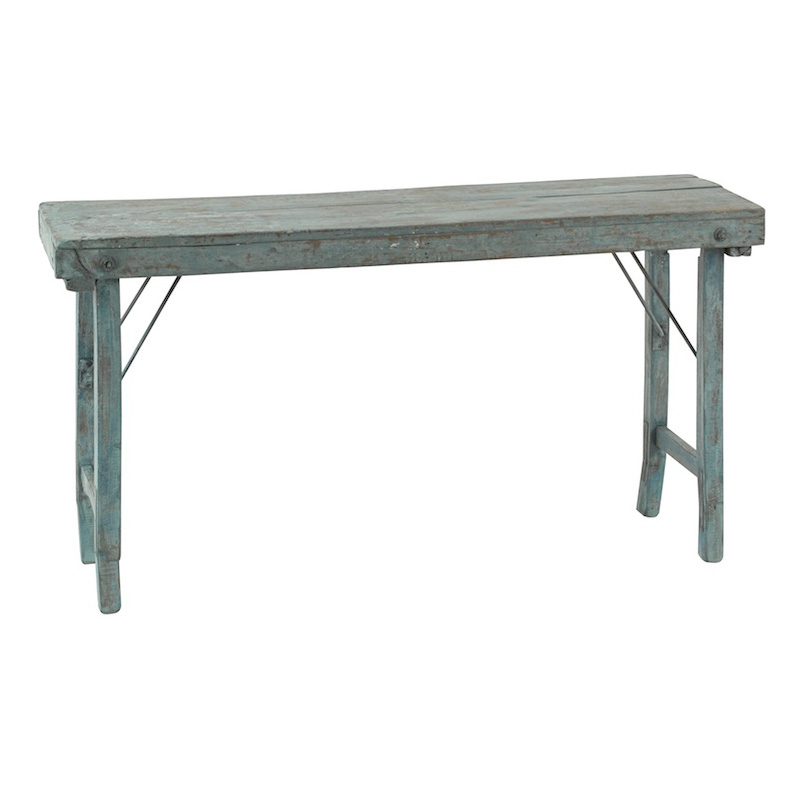 Roland Blue Console Table
