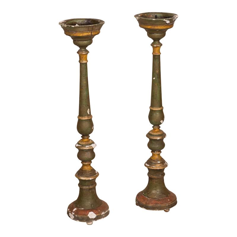 Lantana Candlesticks (pair)