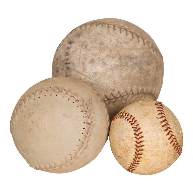 Sutherlin Baseballs (set of 3)