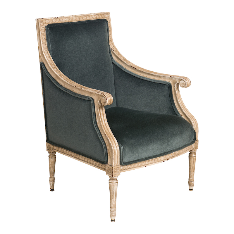 Winchester Mohair Armchairs