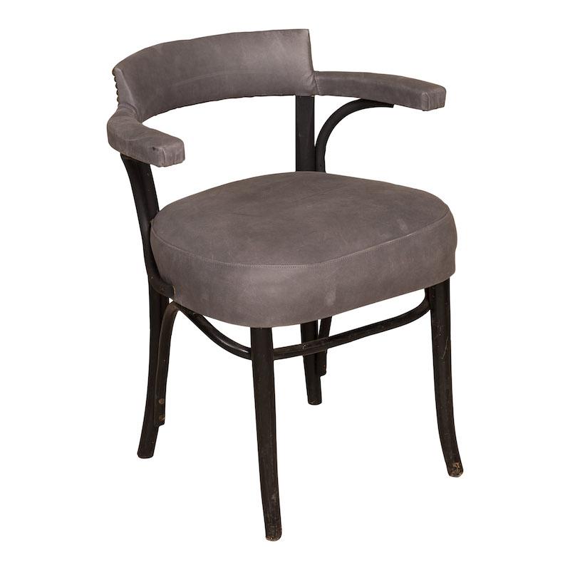Erwin Grey Armchairs