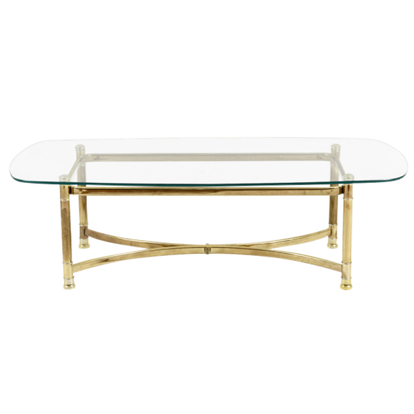 Keaton Brass Coffee Table