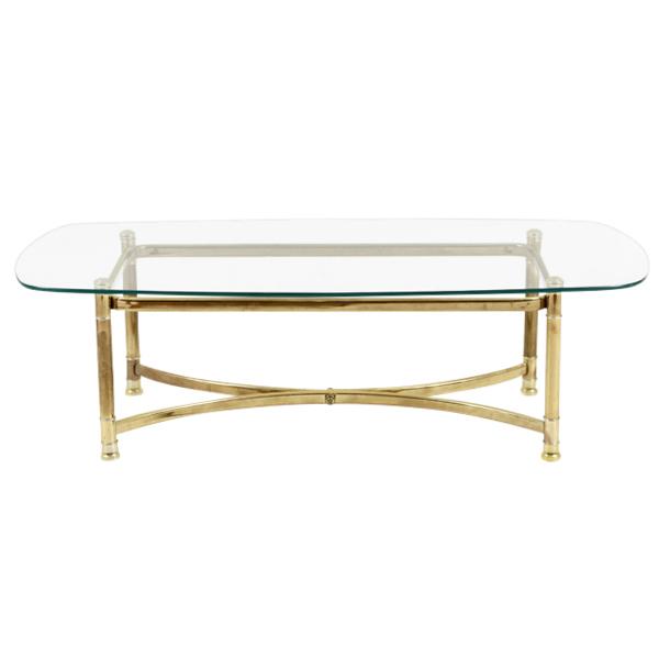 Keaton Brass Coffee Table
