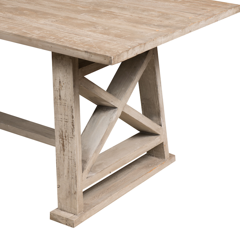 Buy Wooden Trestle Table Images Dining Room