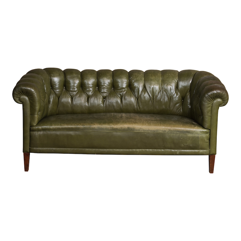 Trimont Leather Couch