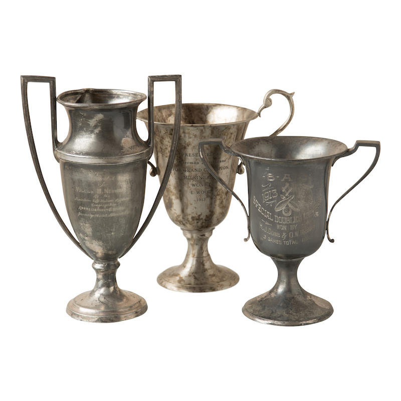 Fairbank Trophies (set of 3)