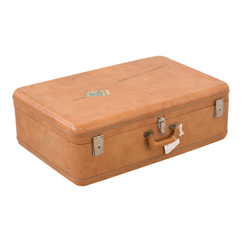 Phelps Leather Suitcase