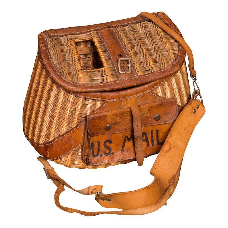 Postal Basket Bag