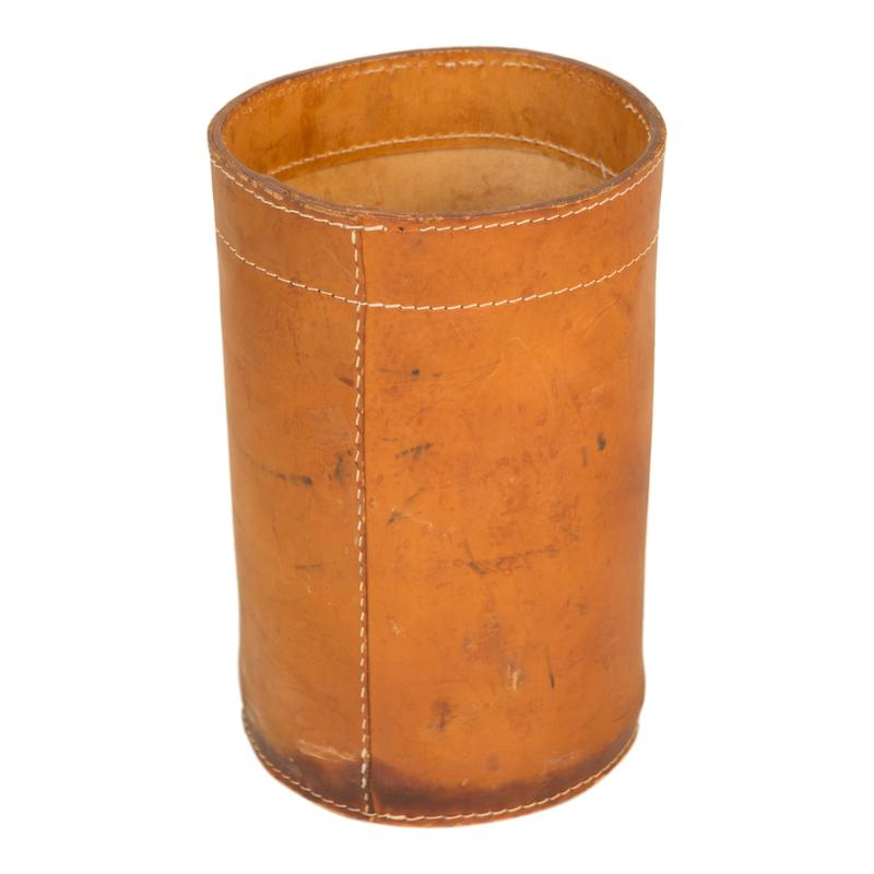Hebert Leather Bucket