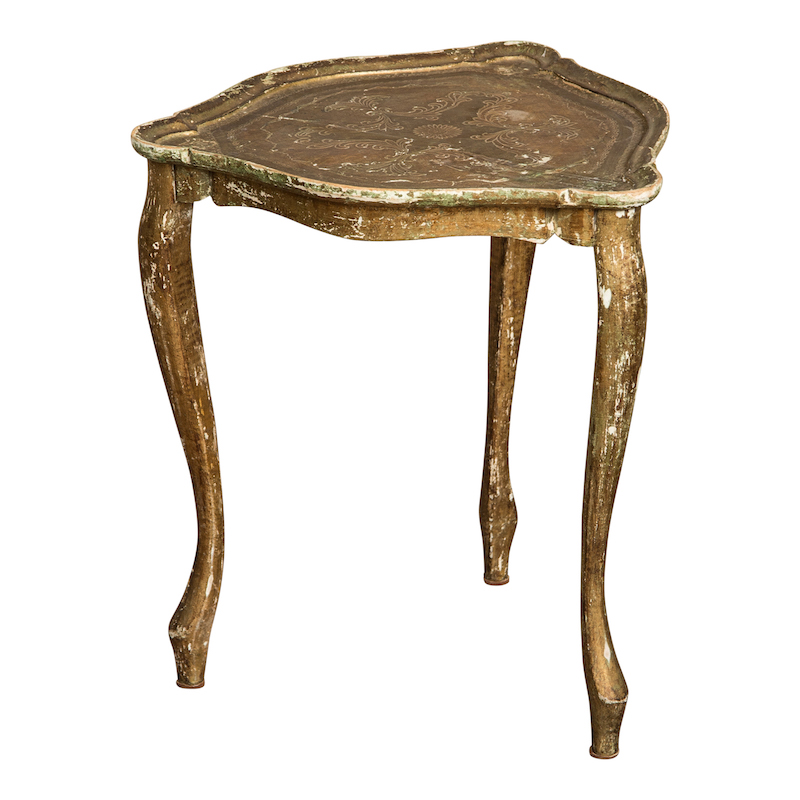 Marchesa Gold Side Table