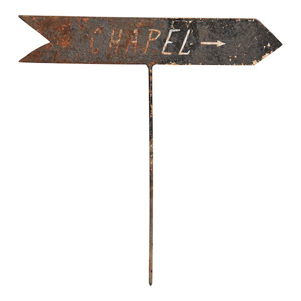 Adamson Arrow Sign