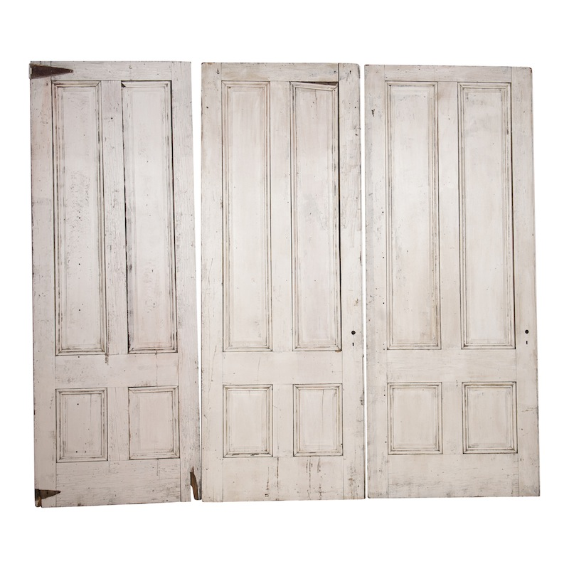 Calvin White Doors (set of 3)