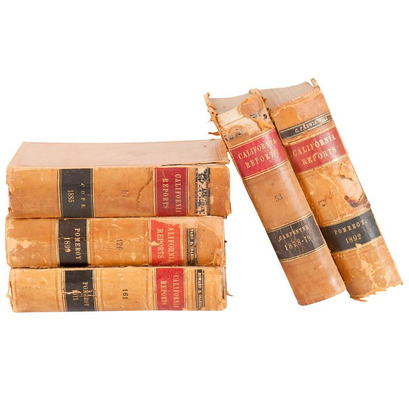 Darrow Leather Books (set of 5)