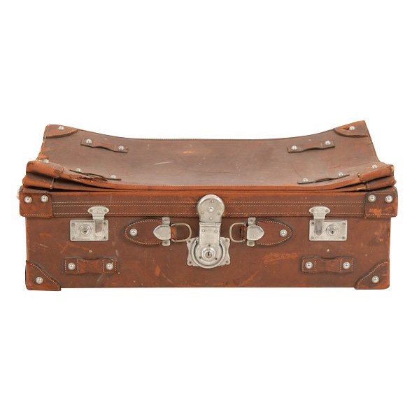 Pearce Leather Suitcase