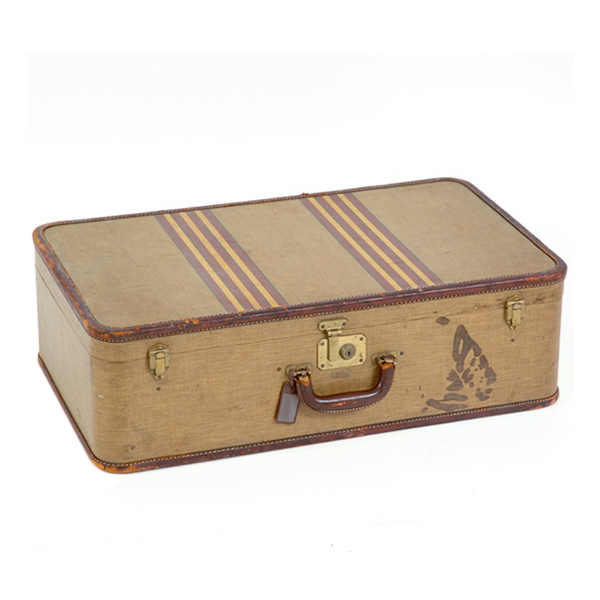 Prince Striped Suitcase