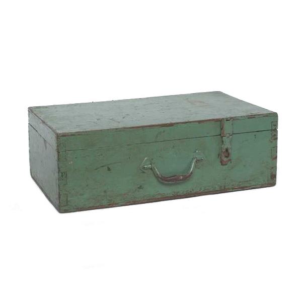 Waverly Light Green Wooden Box