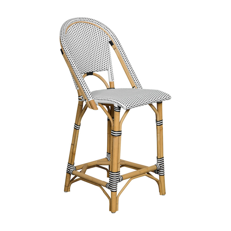 Estelle Rattan Bar Stools