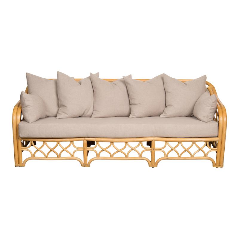 Hadley Rattan Couch