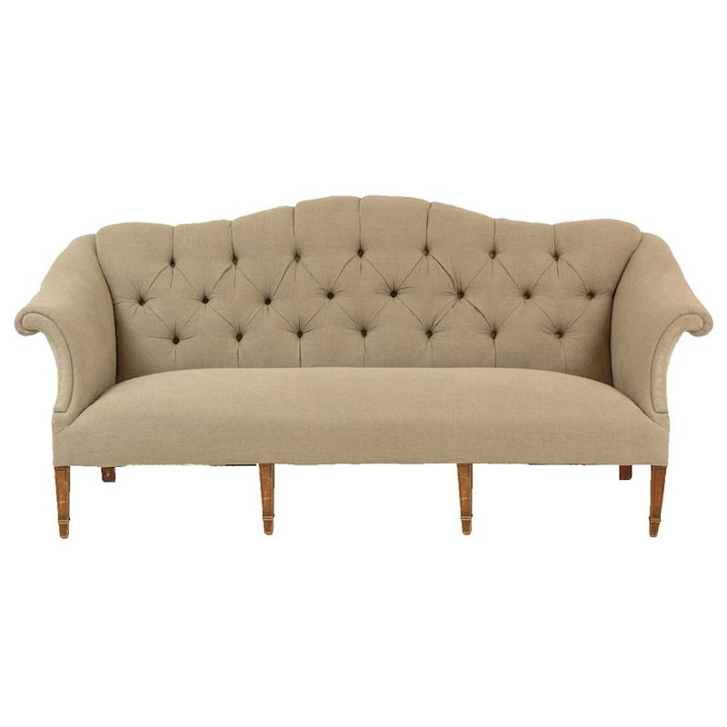 Rivington Linen Couch