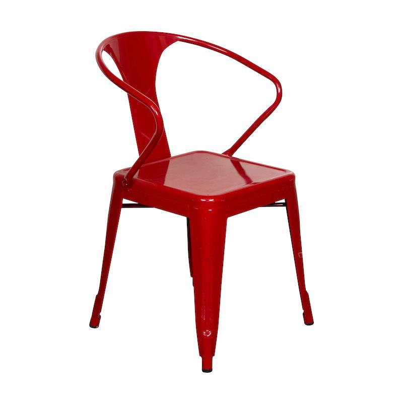 Weldon Red Armchairs