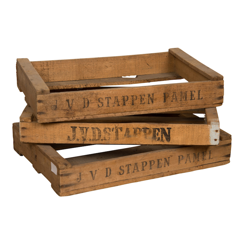 Stappen Crates