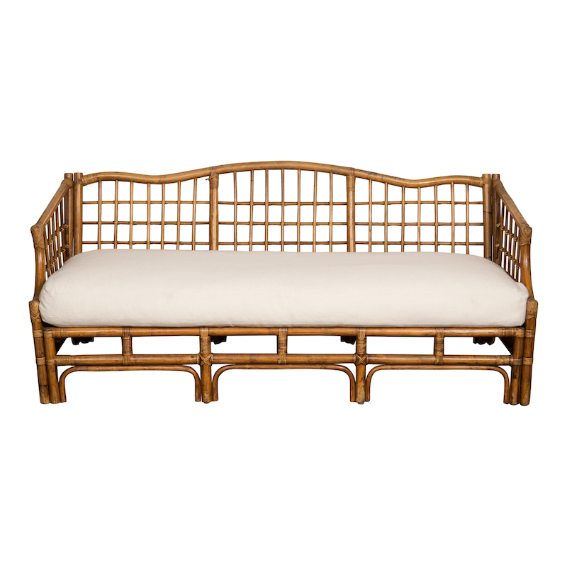 Culver Rattan Couch