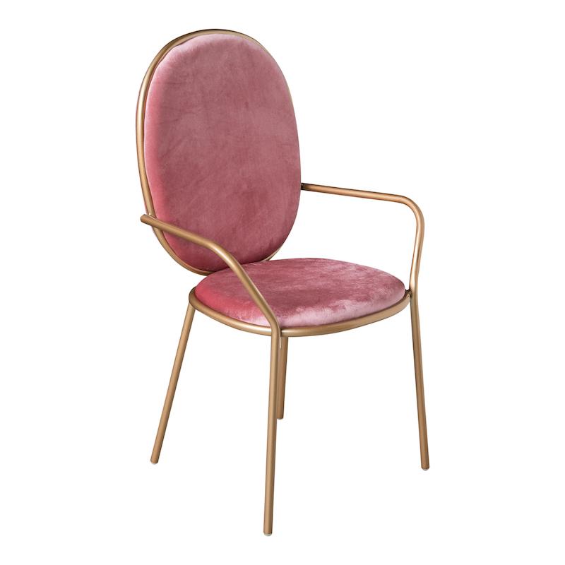 Bijou Pink Armchairs