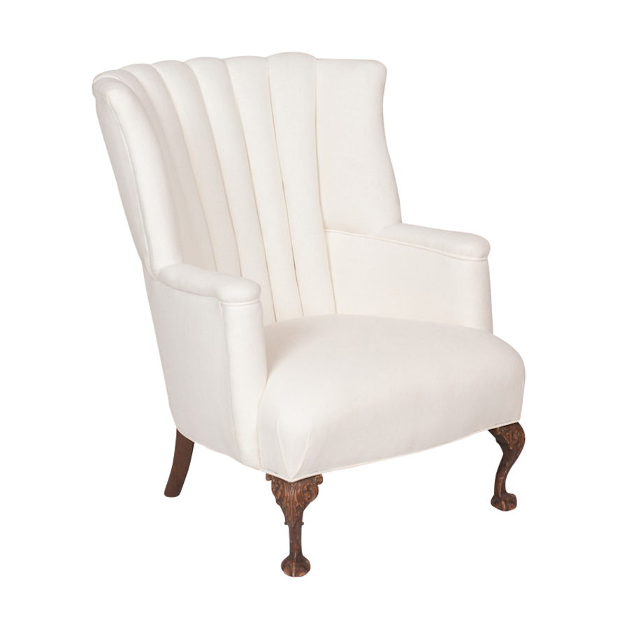 Commodore Cream Armchair