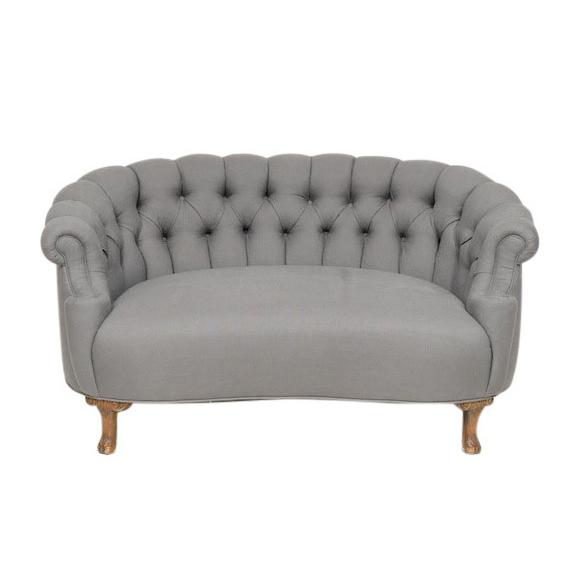 Tremendous Eugene Tufted Settee Found Rentals Ncnpc Chair Design For Home Ncnpcorg