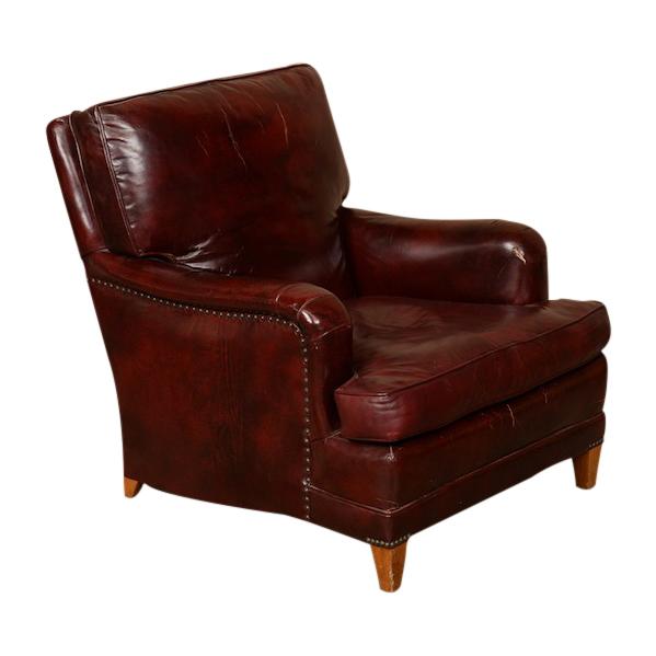 Florence Burgundy Chair