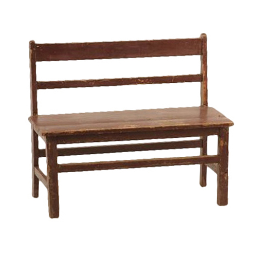 Oliver Red Child Benches